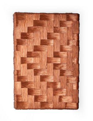 Mimmo Iacopino high voltage trama ordito rame copper