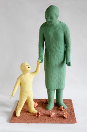 Kazumasa Mizokami artista scultore giappone terracotta