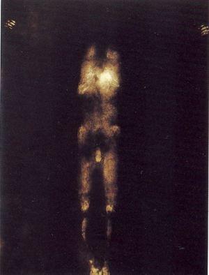 Giovanni Manfredini Manfred tentativo di esistenza calco corporeo croce crocefissione