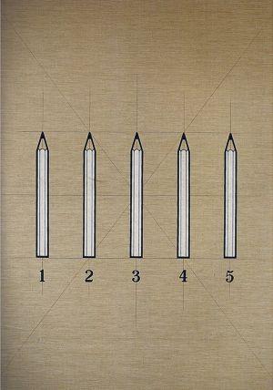Tino Stefanoni tavole oggetti quotidiani matite opera storica