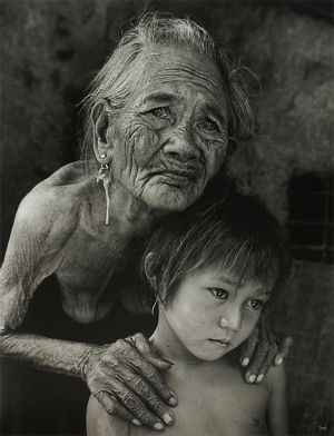 Long Thanh Grandmother Granddaughter my vietnamese life fotografo vietnamita