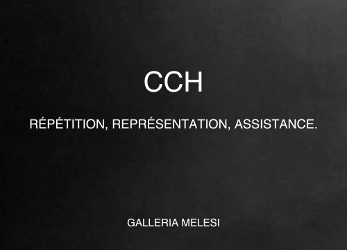 CCH mostra Repetition, Representation, Assistance