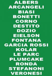 Cover Mostra collettiva 1995 - 1996 Galleria Melesi