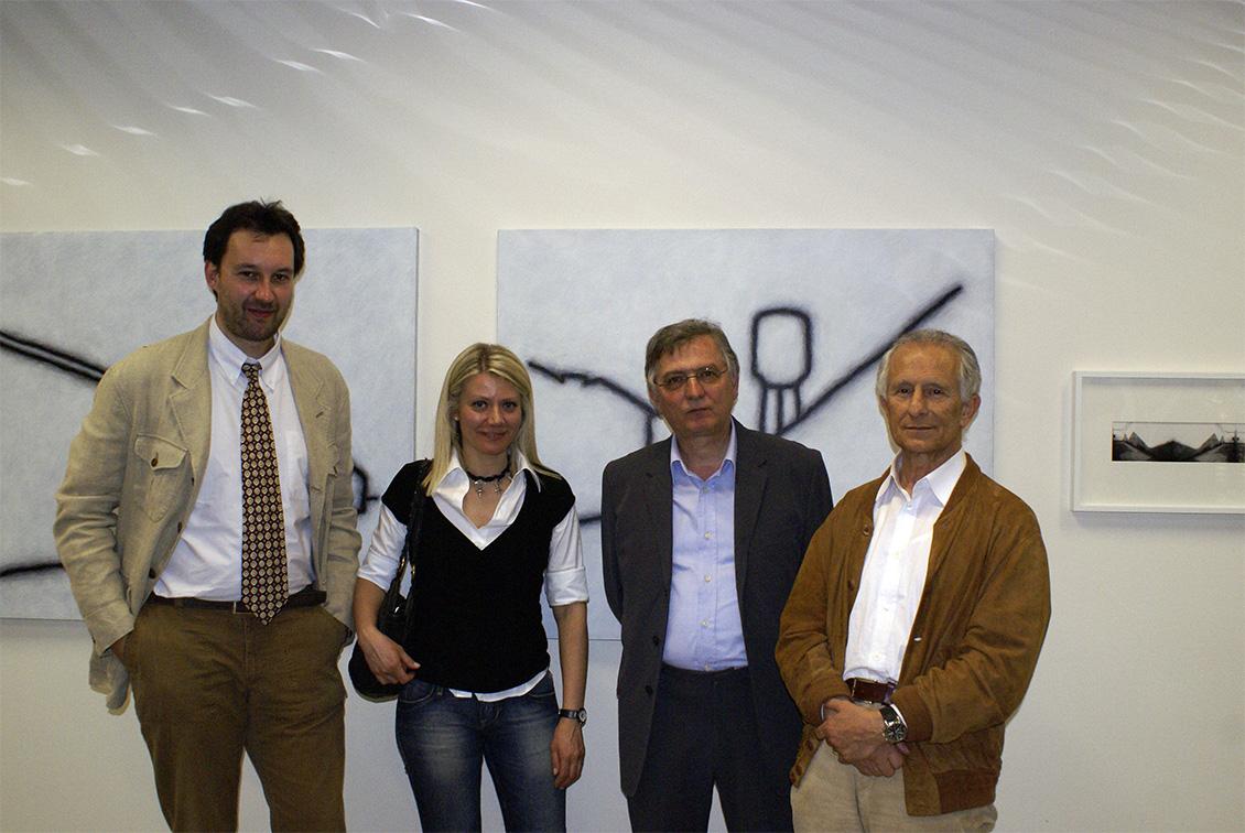 Oriano Lanfranconi, Sabina Melesi, Luigi Erba e Tino Stefanoni