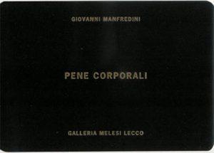 Cover pene corporali Giovanni Manfredini