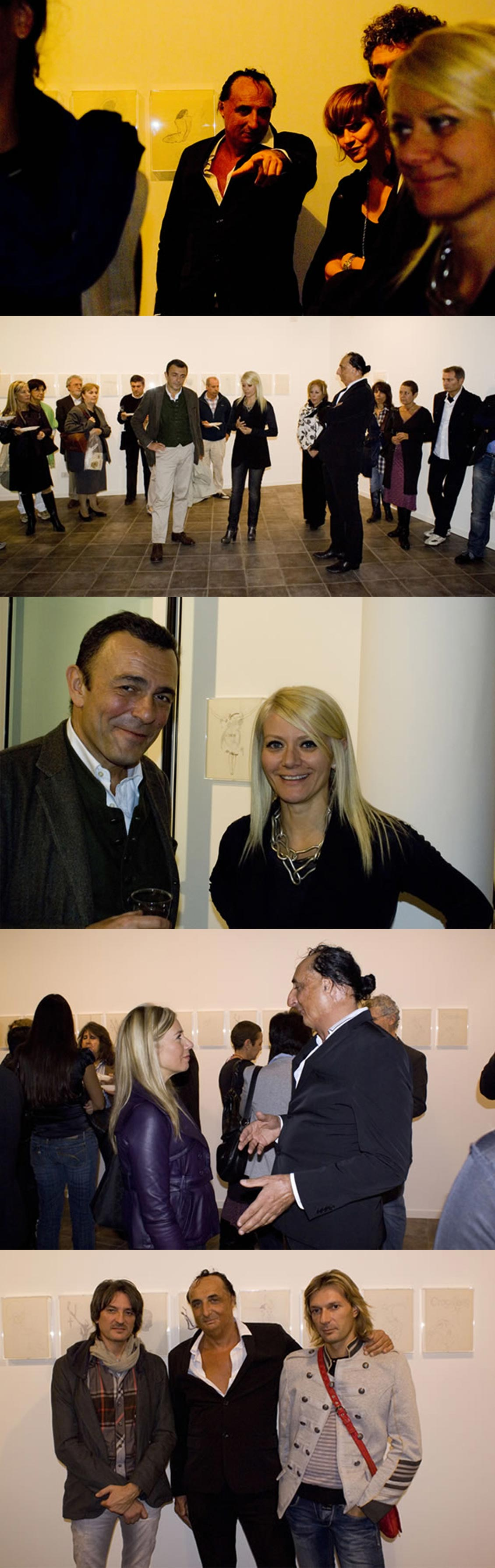 Vernissage Giovanni Manfredini alla Galleria Melesi