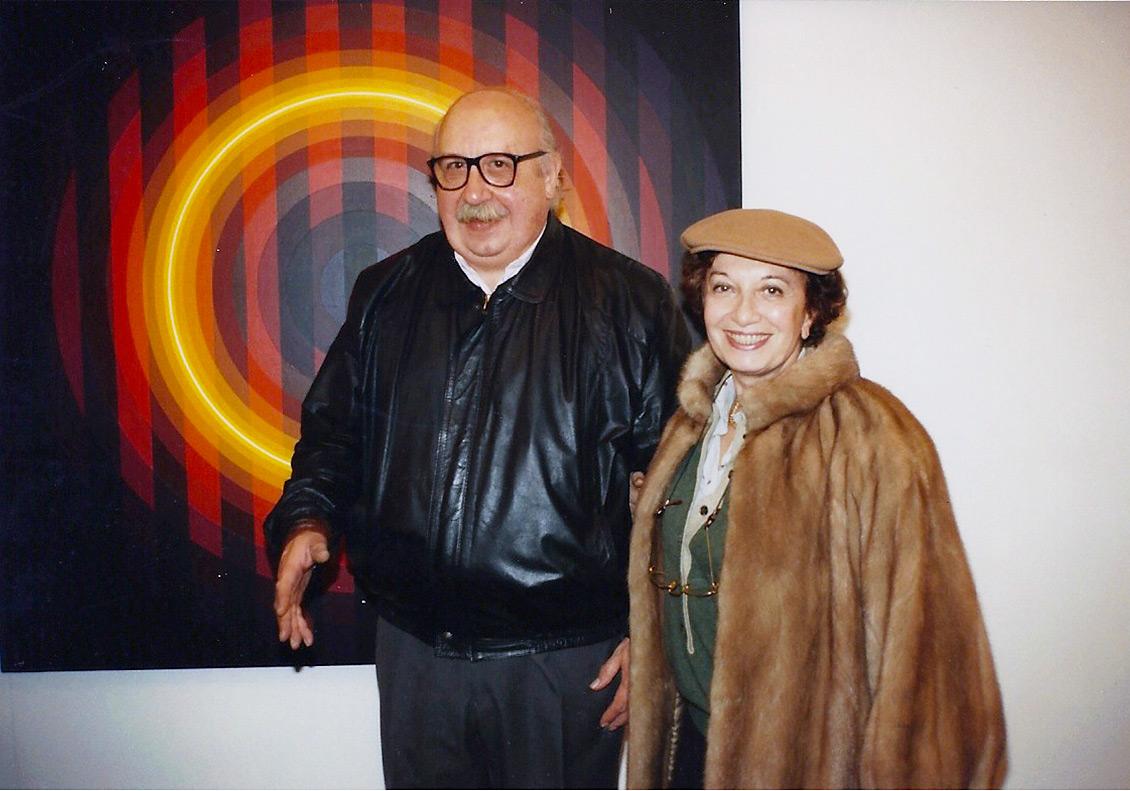 Horacio Garcia Rossi e Zita Vismara