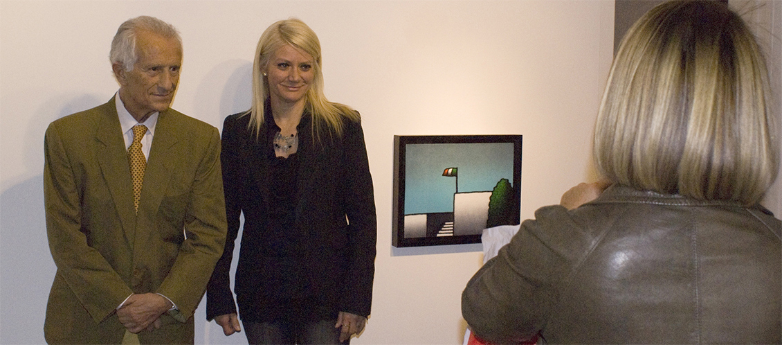 Tino Stefanoni e Sabina Melesi