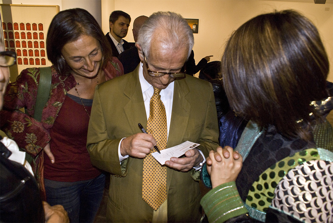 Tino Stefanoni autografi