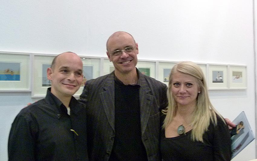 Nando Crippa, Sabina Melesi e Leonardo Manera