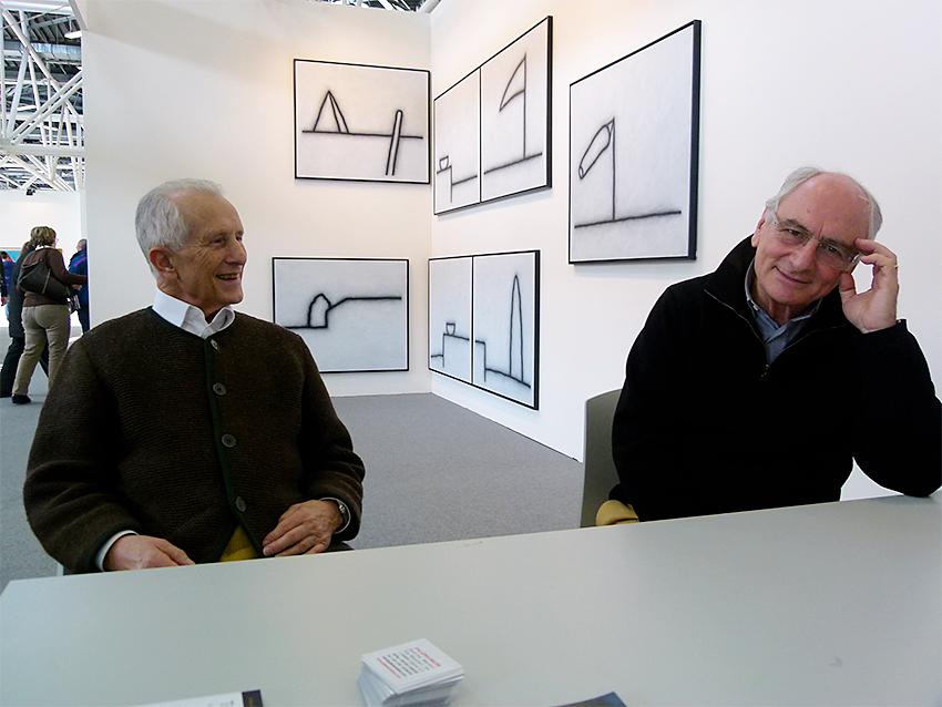 Tino Stefanoni e Giuseppe Maraniello