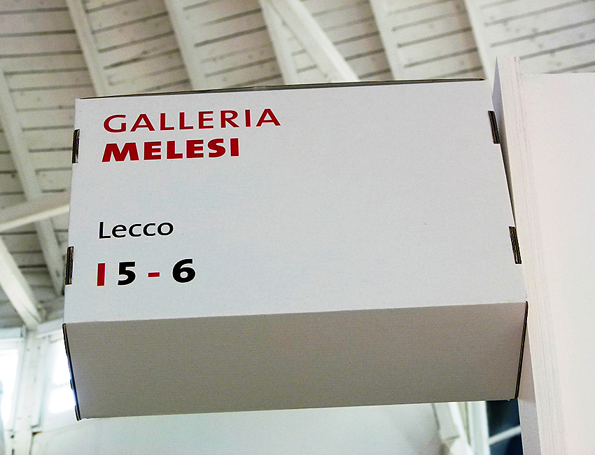 Stand Galleria Melesi alla Flash Art Event 01 2013