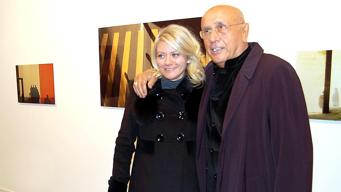 Sabina Melesi e Franco Fontana