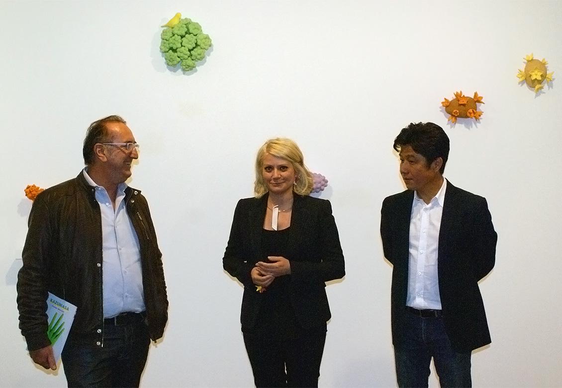 Valerio Dehò, Sabina Melesi e Kazumasa Mizokami