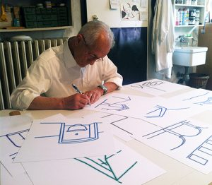 Tino Stefanoni disegna A Memoria