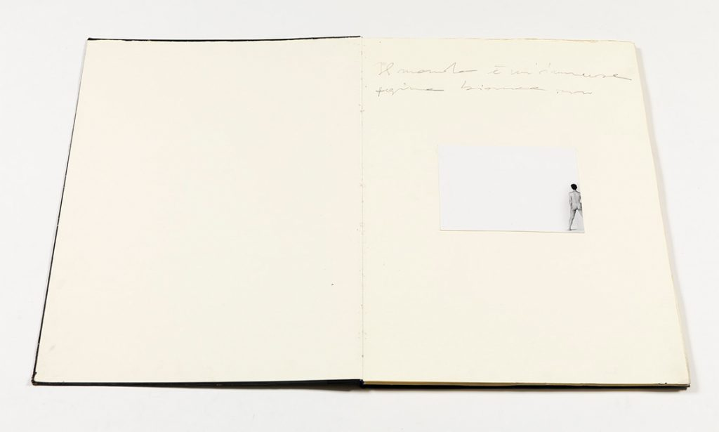 Alessandro Verdi Quaderno Senza Volto 2001