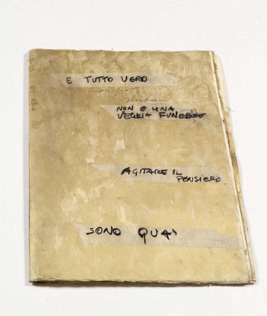 Alessandro Verdi Quaderno La Soglia 2009