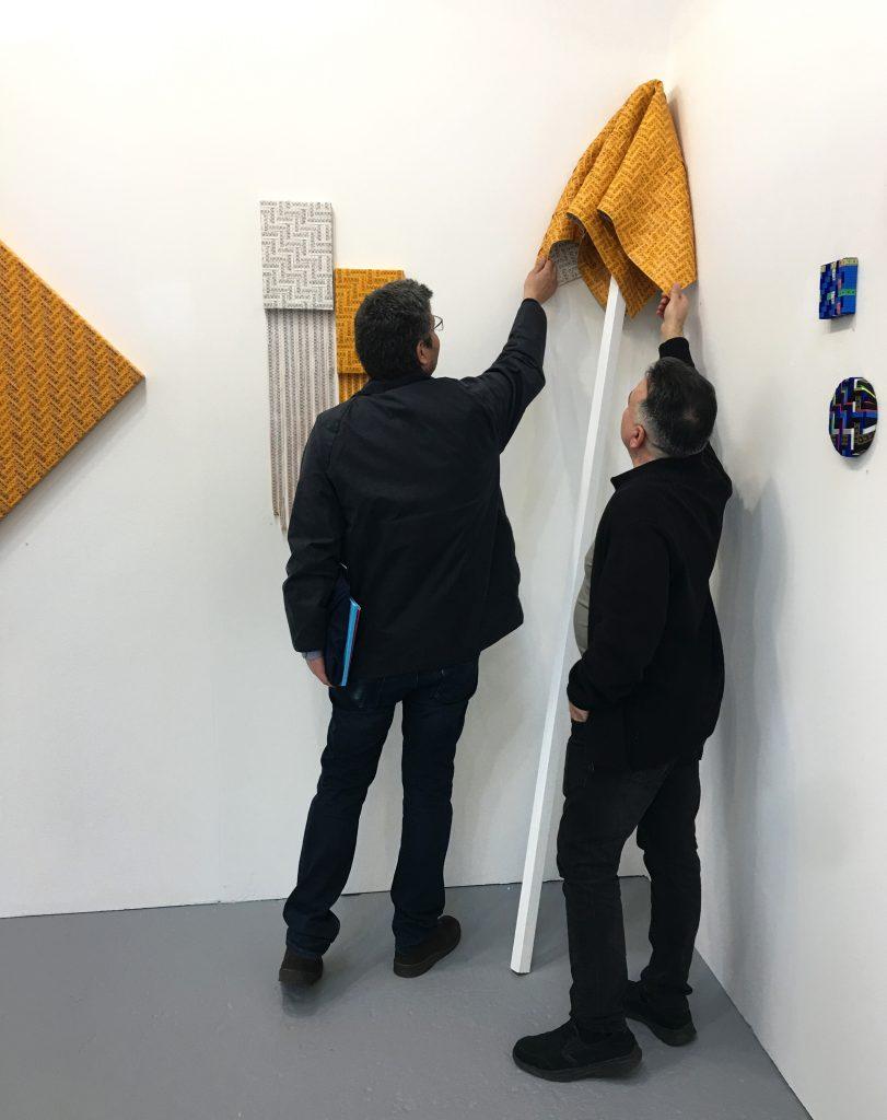 Mimmo Iacopino Solo Show Artefiera Bologna Galleria Melesi Ivan Quaroni