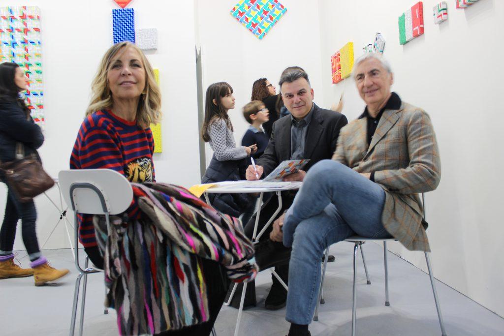 Mimmo Iacopino Solo Show Artefiera Bologna stand Galleria Melesi