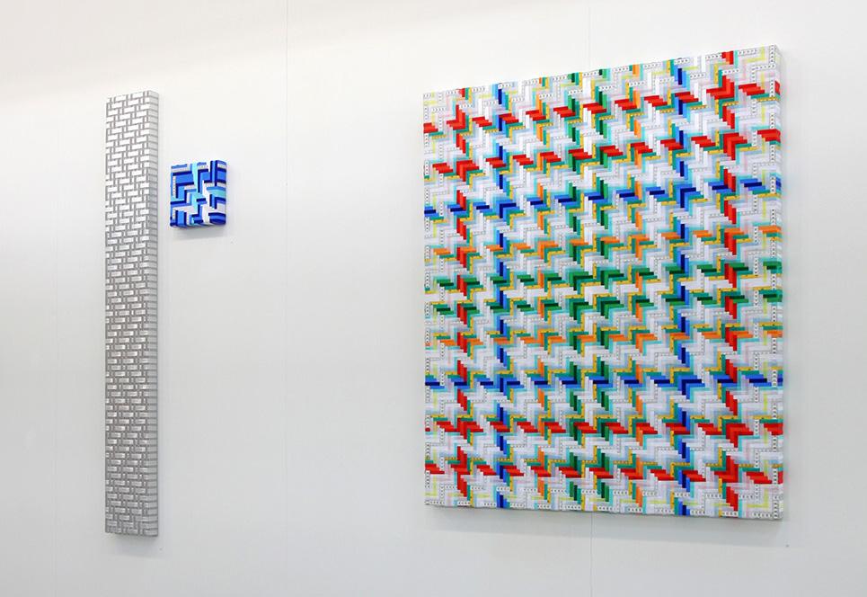 Opere di Mimmo Iacopino allo Stand Galleria Melesi Artefiera 2017