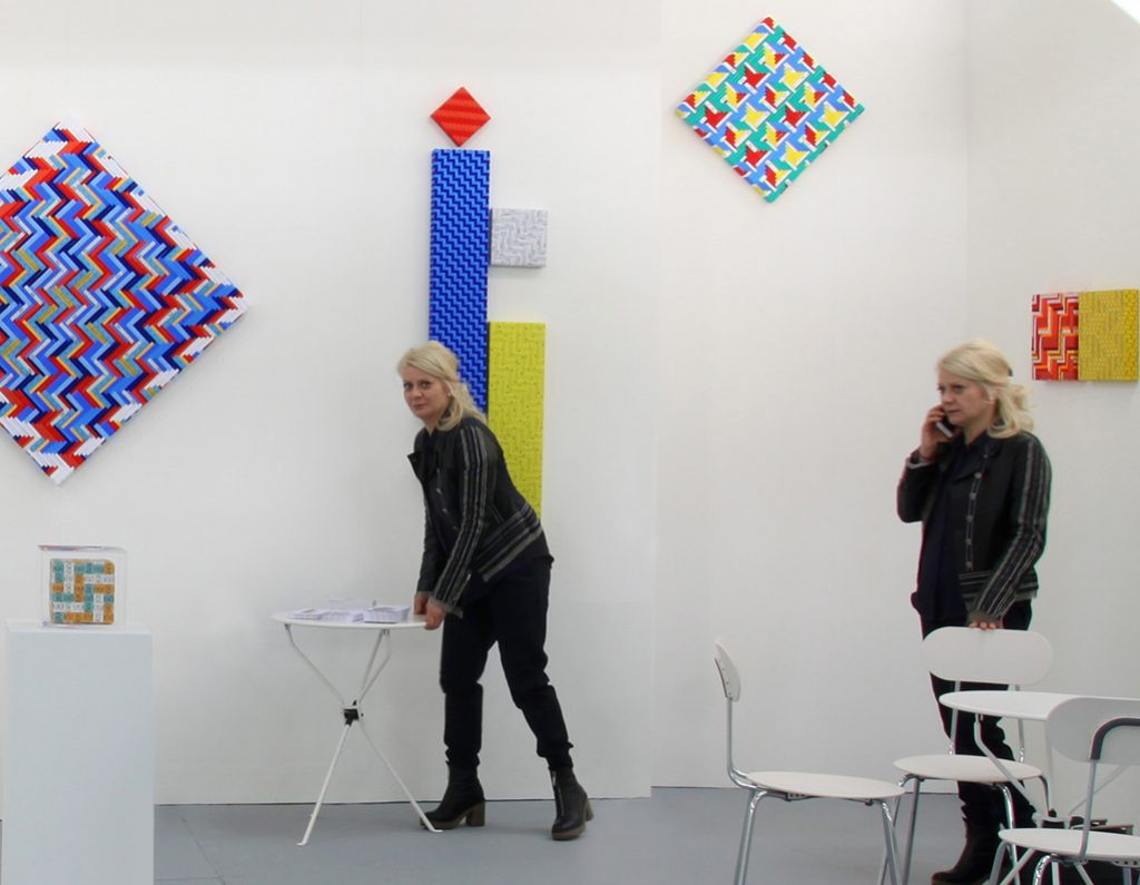 Sabine Melesi Galleria Melesi Artefiera 2017