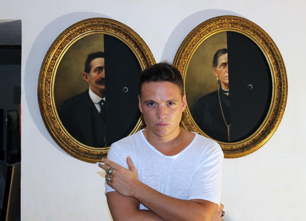 Nicolò Tomaini, Ritratto