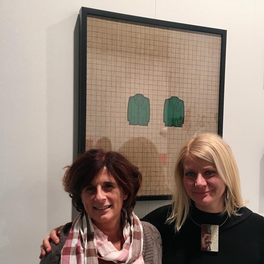 Susanna Stefanoni con Sabina Melesi