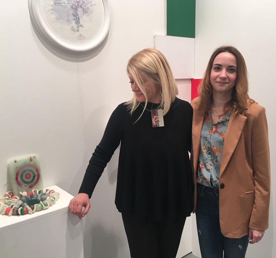 Sabina Melesi con Angelica Consoli