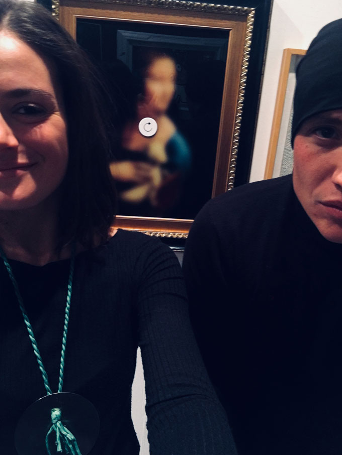 Eva Castelletti con Nicolò Tomaini