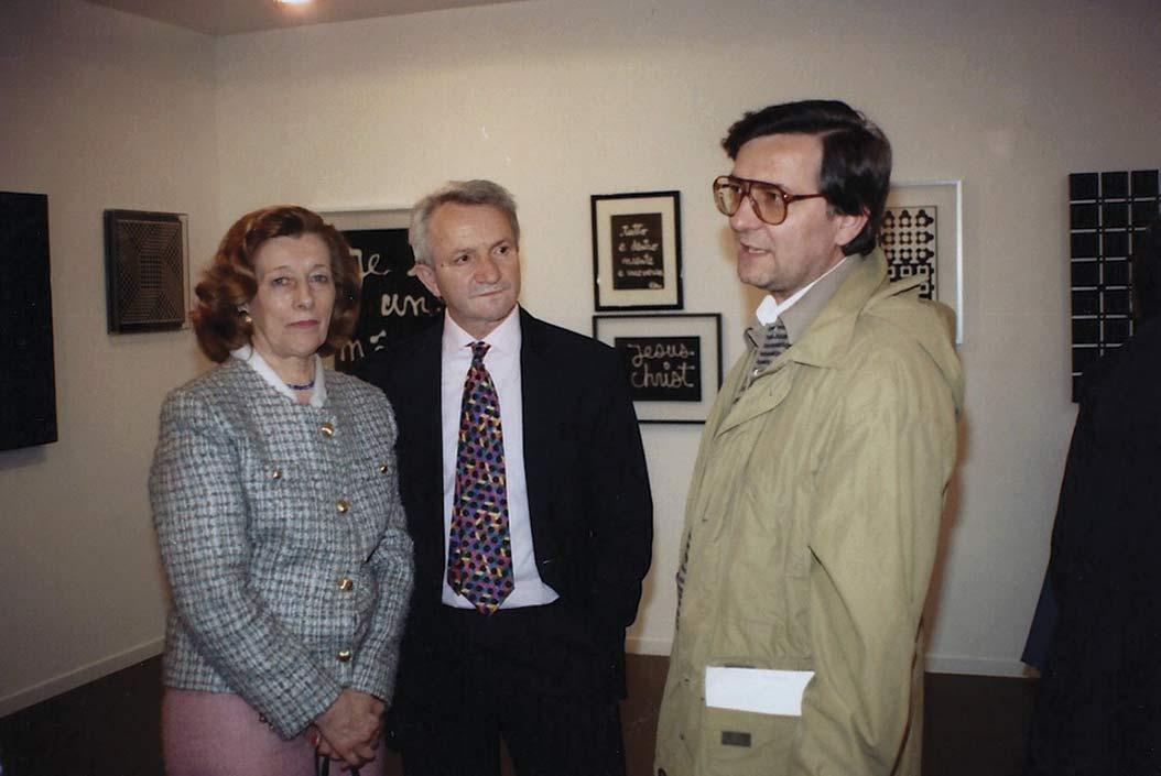 Foto con Adriana Secomandi, Angelo Dozio, Luigi Erba